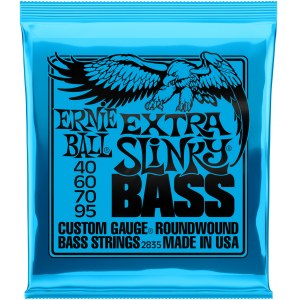 ERNIE BALL 2835 Slinky Bass Extra 040-095 Nickelwound Steel. Saiten für E-Bass / DE