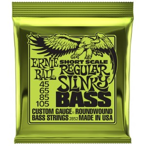 ERNIE BALL 2852 Slinky Bass Regular 45-105 Nickel Wound. Saiten für 4-String E-Bass