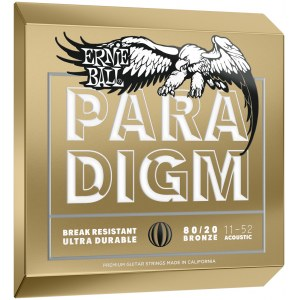 ERNIE BALL 2088 Paradigm 8020 Bronze Light 11-52 Saiten für Westerngitarre