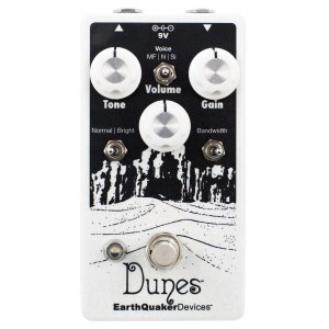 EARTHQUAKER Dunes V2 Mini Mega Ultimate Overdrive Effektpedal