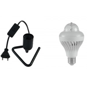 EUROLITE LED BCL-1 Triangle Light Set Lampenset inkl. Fassung E27 230V