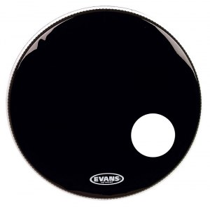 EVANS BD20RB Resonant Black EQ3 20 Zoll Resonanzfell, Bassdrum