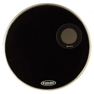 EVANS BD22REMAD black 22 Zoll Resonanzfell, Bassdrum