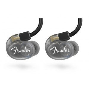 FENDER DXA1 Pro In-Ear Monitors Kopfhörer, transparent charcoal