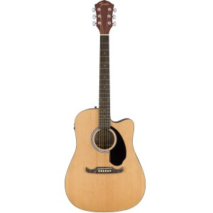 FENDER FA-125CE Dreadnought Elektro-Akustik Gitarre, natural