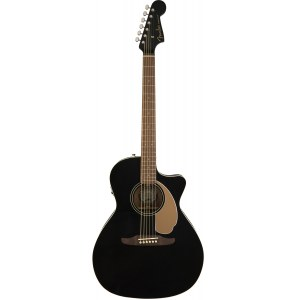 FENDER Newporter Player JBK Akustik-Gitarre, jetty black