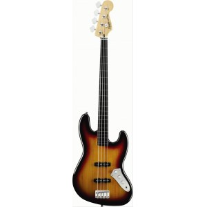 FENDER Squier Vintage Modified J-Bass Fretless 3TS 4-saitiger E-Bass, 3 tone sunburst
