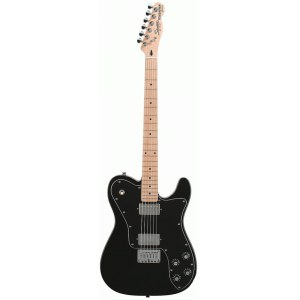 FENDER Squier Vintage Modified Tele Custom MN BLK E-Gitarre inkl. Gigbag, black