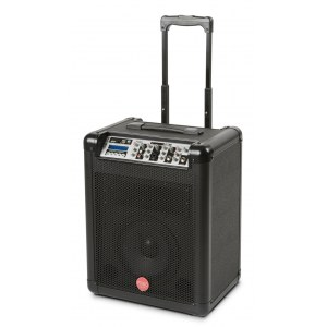 FIVE-O Duel aktiv 50Watt/8Zoll / B-Ware Batterie-PA-System mit USB/MP3-Player