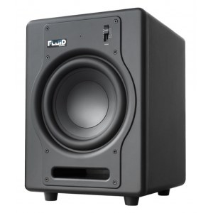 FLUID AUDIO F-8 S aktiv 200Watt/8Zoll Studio-Subwoofer, black