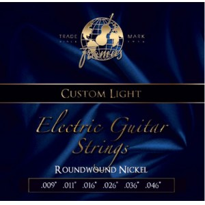 FRAMUS 45210 CL Blue Label Custom Light 009/046 Nickelplated Steel Round Wound. Saiten E-Gitarre