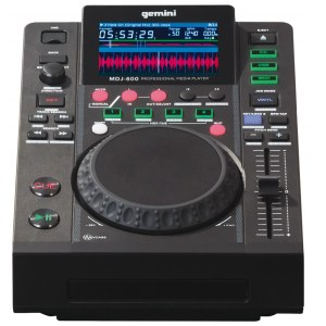 GEMINI MDJ-600 USB/MP3/CD-Player und Controller