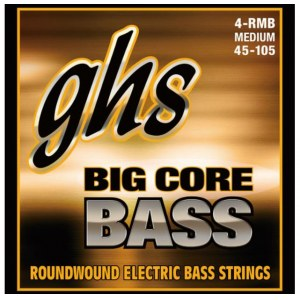 GHS 4-RMB BC Big Core Bass 4-String 045-105 Roundwound. Saiten für E-Bass
