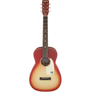 GRETSCH G9500-CHFB-FSR Jim Dandy Limited Edition Akustik-Gitarre, chieftain red burst