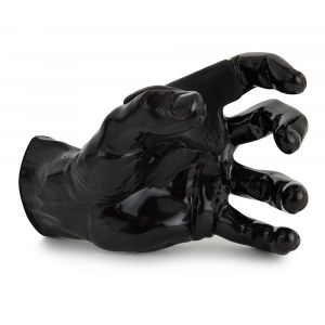 GUITARGRIP Black Metallic Male Hand left Gitarren-Wandhalter