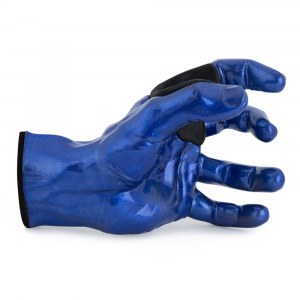 GUITARGRIP Blue Metallic Male Hand left Gitarren-Wandhalter