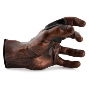 GUITARGRIP Copper Antique Male Hand left Gitarren-Wandhalter