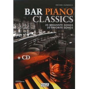 HAGE Bar Piano Classics /CD, M.Gundlach EH 3749, 20 bekannte Songs