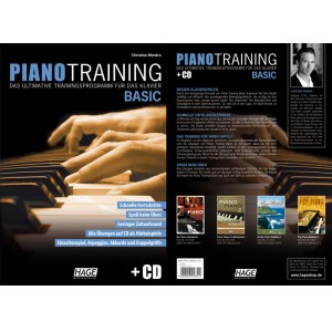 HAGE Piano Training Basic /CD EH 3937, Trainingsprogramm für das Klavier
