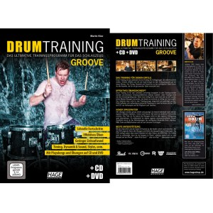 HAGE Drum Training - Groove /CD/DVD EH 3941, Trainingsprogramm für Drummer