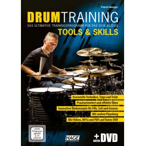 HAGE Drum Training Tools & Skills /DVD Trainingsprogramm für das Schlagzeug!