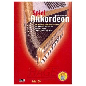 HAGE Spiel Akkordeon (CD) 610252, Peter Michael Haas