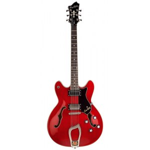 HAGSTROM Viking -04 Vintage Hollowbody E-Gitarre, cherry