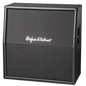 HUGHES&KETTNER TC-412 A Cabinet 240Watt/4x12Zoll Custom Class Gitarrenbox, schräg