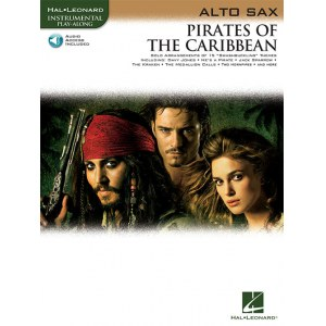 ANCORA Pirates Of The Caribbean Altsaxofon 16 Stücke des Blockbusters, Klaus Badelt