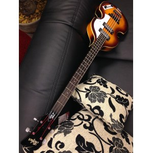 HÖFNER HI-CA-SB Violin Bass Ignition Cavern E-Bass inkl. Gigbag, sunburst