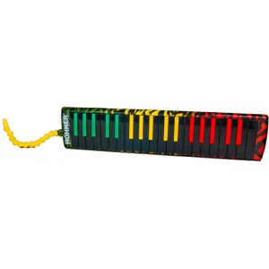 HOHNER AirBoard Rasta 37 Melodica inkl. Softcase