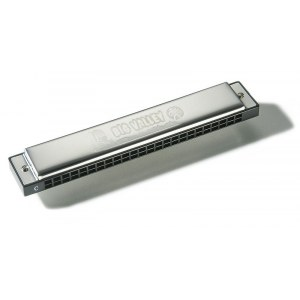 HOHNER Big Valley 48 Stimmen C-Dur Tremolo-Mundharmonika, traditionell