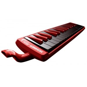 HOHNER Melodica Fire 32 Melodica inkl. Etui, rot