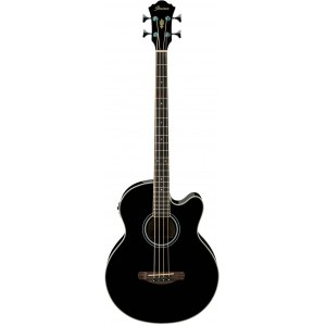 IBANEZ AEB5E-BK Akkustik-Bass 5-saitig, black high gloss