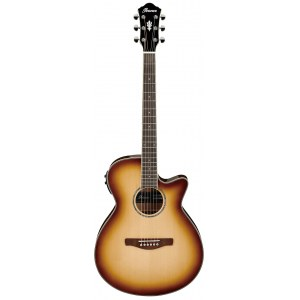 IBANEZ AEG10II-NNB Westerngitarre, natural browned burst