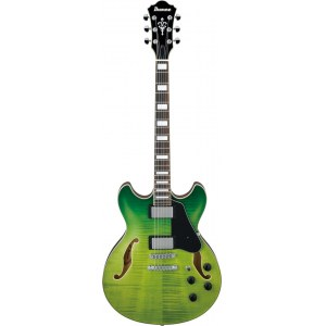 IBANEZ AS73FM-GVG Artcore E-Gitarre, green valley gradation