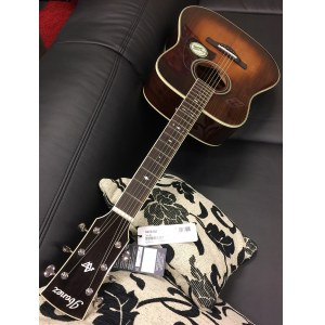 IBANEZ AVD10-BVS Artwood Thermo Aged Dreadnought Akustik-Gitarre, brown violin sunburst