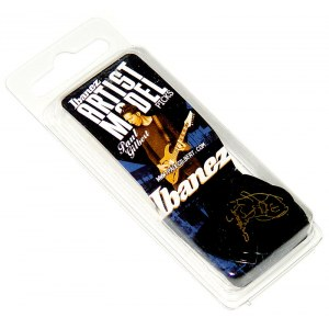 IBANEZ B1000PG-BK Plektren Heavy 1mm (6er Pack) Paul Gilbert Signature Picks, black