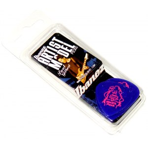 IBANEZ B-1000 PG-JB Plektren Heavy 1mm (6er Pack) Paul Gilbert Signature Picks, blau