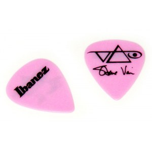 IBANEZ B-1000 SV-MP Plektren Heavy 1mm (6er Pack) Steve Vai Signature Picks, pink