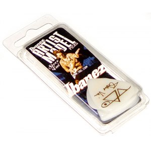 IBANEZ B-1000 SVR-WH Plektren Heavy 1mm (6er Pack) Steve Vai Signature Picks, weiss