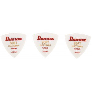 IBANEZ BEL8ST10 Elastomer Soft 1,00mm Triangel Pektrum (3 Stück)
