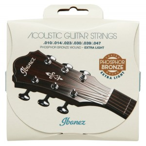 IBANEZ IACSP61C Acoustic Strings Light 010-057 Coated Phosphor Bronze Saiten für Akustikgitarre