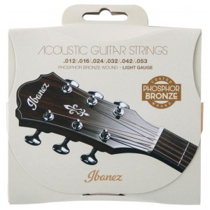 IBANEZ IACSP6C Acoustic Strings Light 012-053 Coated Phosphor Bronze Saiten für Akustikgitarre