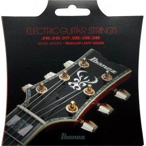 IBANEZ IEGS61 Electric Guitar Regular Light 010-46 Nickel Wound Saiten für E-Gitarre
