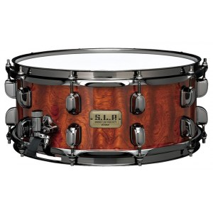TAMA LGB146-NQB S.L.P. Sound Lab Project Snaredrum 14x6Zoll, natural quilted bubinga