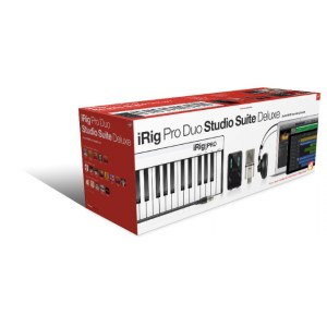 IK MULTIMEDIA iRig Pro Studio Suite Deluxe Audio-Recording-Bundle