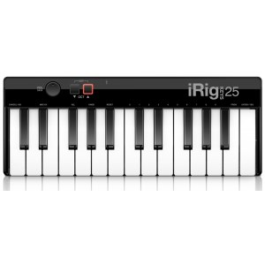 IK MULTIMEDIA iRig Keys 25 USB Mini-Keyboard für iPhone, iPad inkl. Software