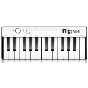 IK MULTIMEDIA iRig Keys Mini USB MIDI-Keyboard