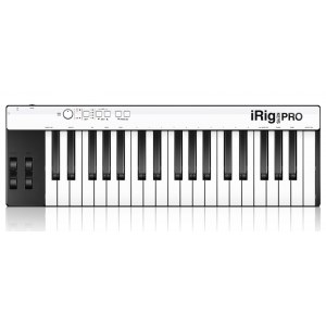 IK MULTIMEDIA iRig Keys Pro USB / AL Mini-Keyboard für iPhone, iPad inkl. Software / AL